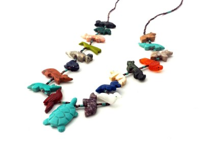 Turtle Fetish Necklace
