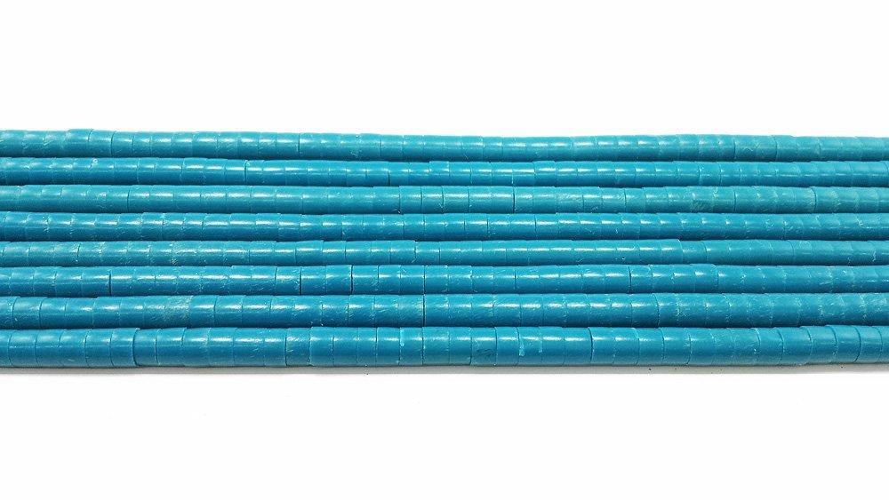 4 - 5 Turquoise Heishi Beads