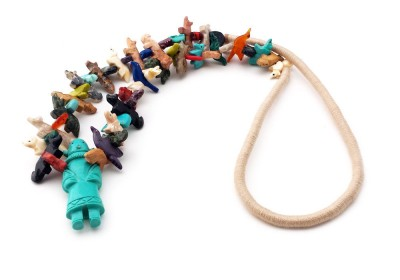 Buffalo Dancer Southwestern Necklace