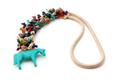Horse Southwestern Necklace