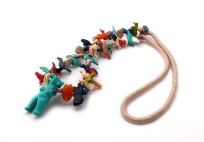 Standing Bear Southwestern Necklace